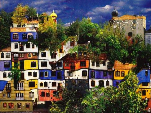 Hundertwasser+House+Vienna