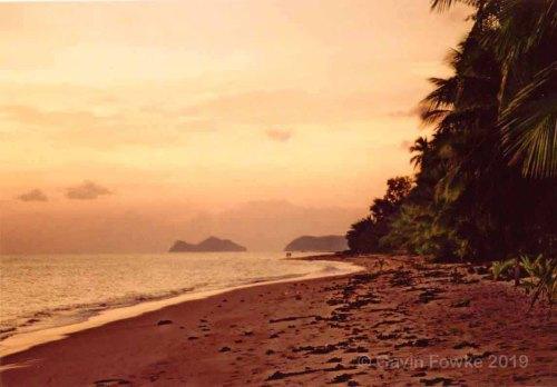 kho pha ngan sunset