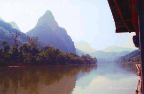 laos river boat