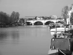 The river at Kingston