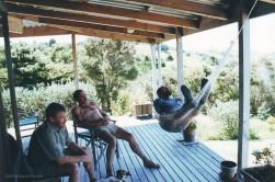 Men on the veranda