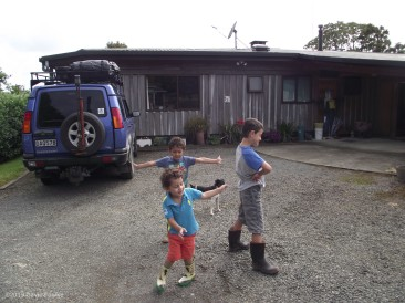 The House The Boys and their Big Cousin